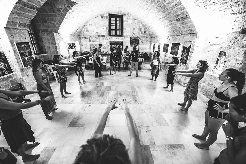 circular music corso di danza africana
