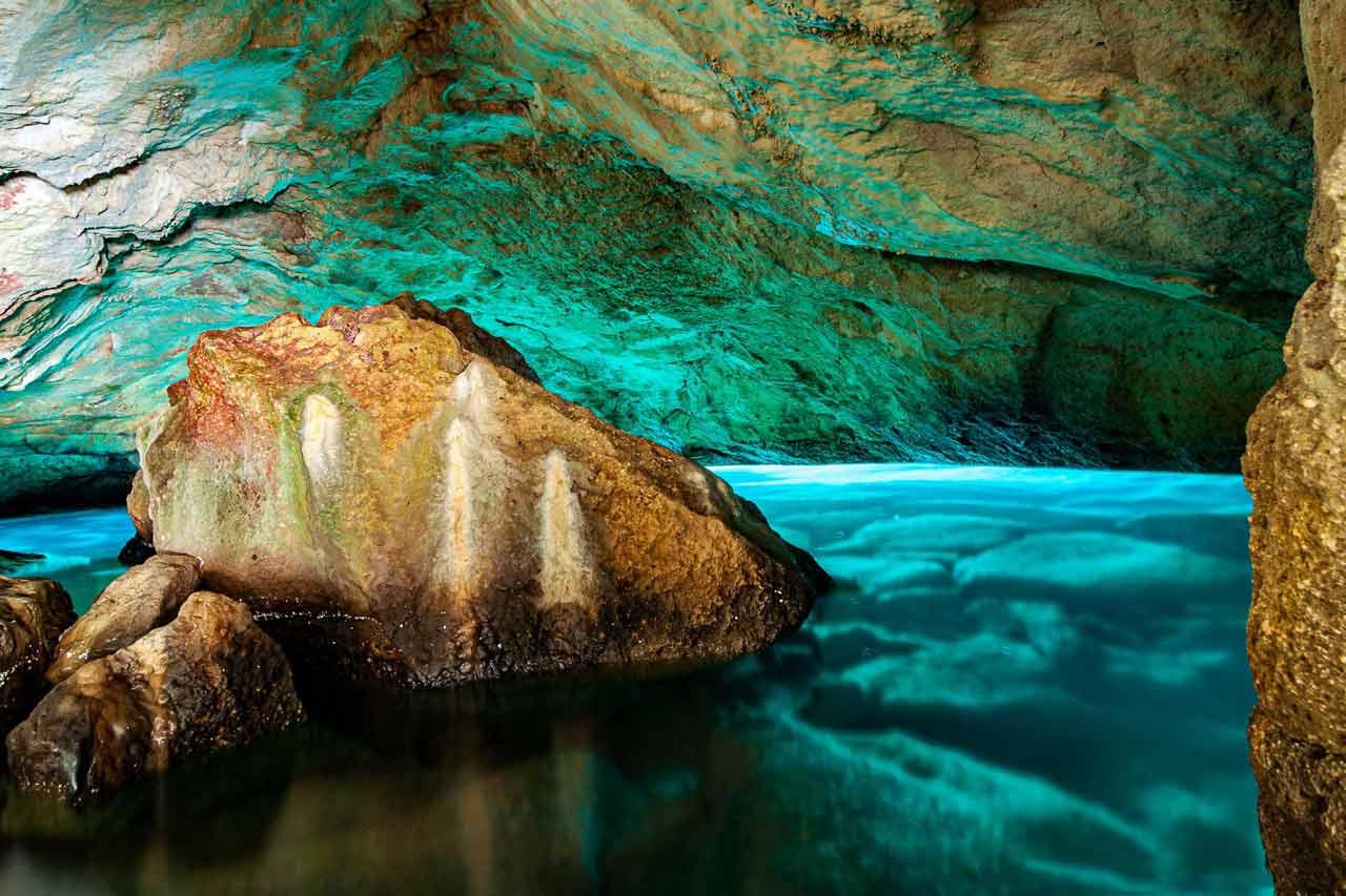 Grotta Verde, Marina di Andrano